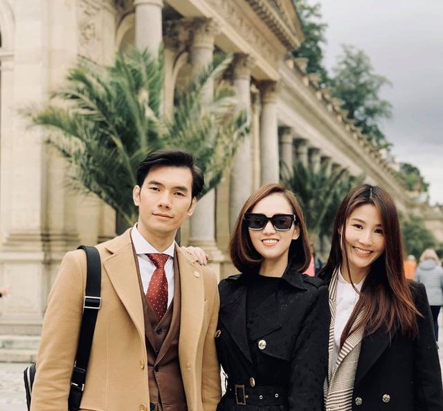 Nhớ Praha, Lã Thanh Huyền tung loạt ảnh hậu trường Tình yêu và tham vọng - Ảnh 3.