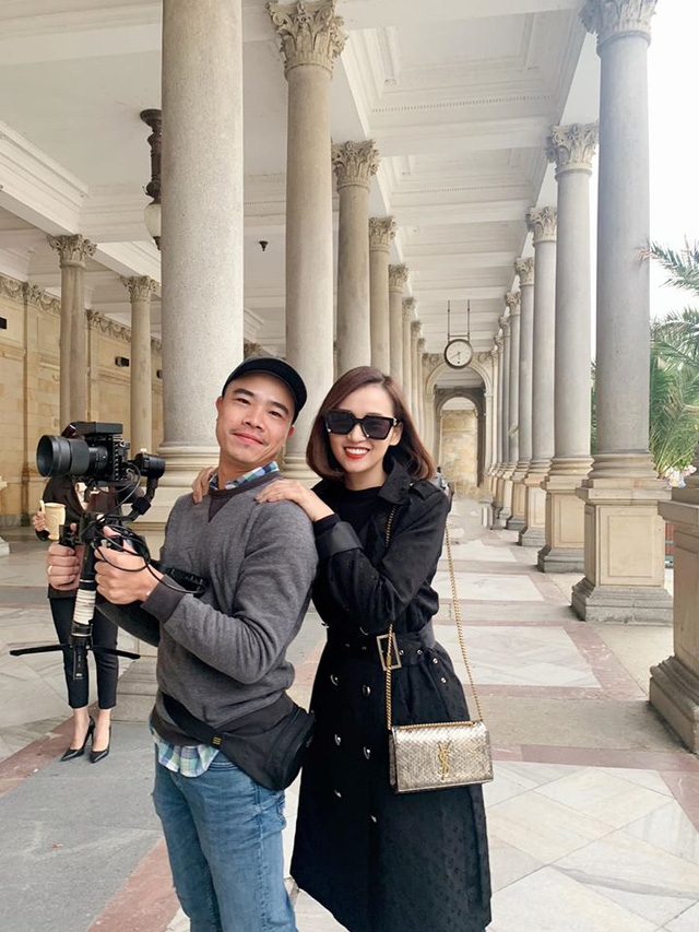 Nhớ Praha, Lã Thanh Huyền tung loạt ảnh hậu trường Tình yêu và tham vọng - Ảnh 13.