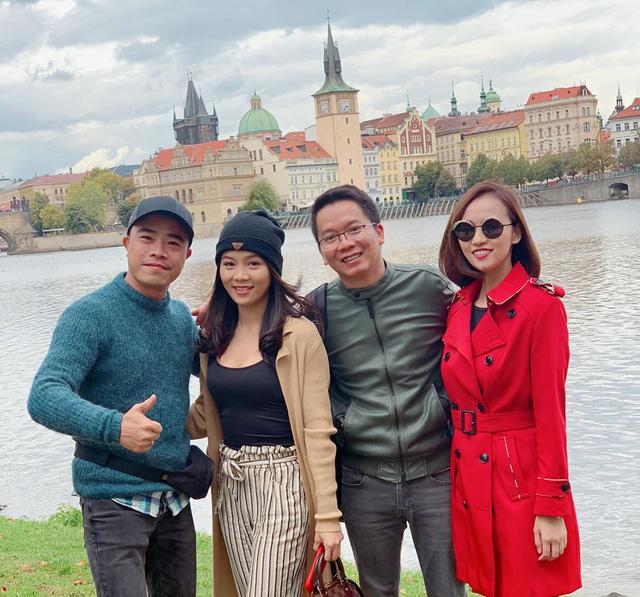 Nhớ Praha, Lã Thanh Huyền tung loạt ảnh hậu trường Tình yêu và tham vọng - Ảnh 12.