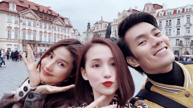 Nhớ Praha, Lã Thanh Huyền tung loạt ảnh hậu trường Tình yêu và tham vọng - Ảnh 8.
