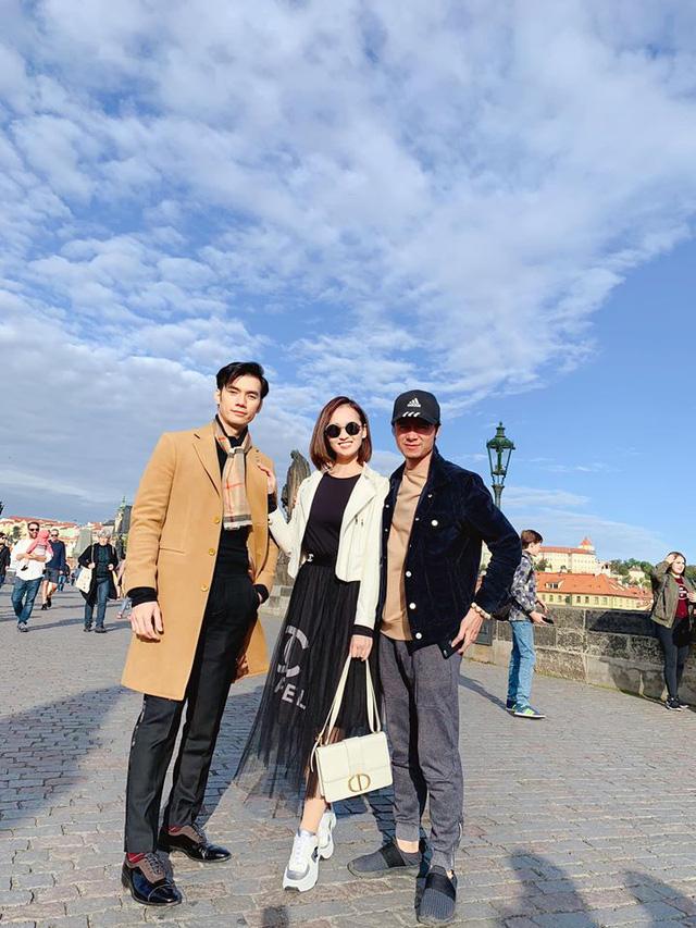 Nhớ Praha, Lã Thanh Huyền tung loạt ảnh hậu trường Tình yêu và tham vọng - Ảnh 5.