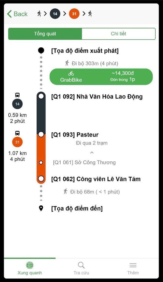 Ra mắt ứng dụng thông minh kết nối xe bus và Grab ở TP.HCM - Ảnh 2.