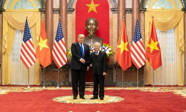 Tổng thống Donald Trump: Quan hệ đối tác Việt - Hoa Kỳ là kỳ tích đặc biệt - Ảnh 1.