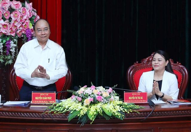 Thủ tướng kiểm tra giải ngân vốn đầu tư công tại Ninh Bình - Ảnh 1.