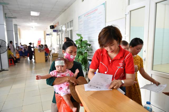 Phát hiện 213 trẻ em mắc dị tật tim bẩm sinh tại Thanh Hoá - Ảnh 9.