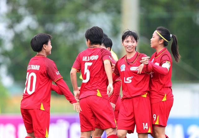 Khai mạc Giải BĐ Nữ Cúp QG 2020: Hà Nội I Watabe, TP.HCM và Hà Nội II Watabe cùng giành chiến thắng - Ảnh 1.