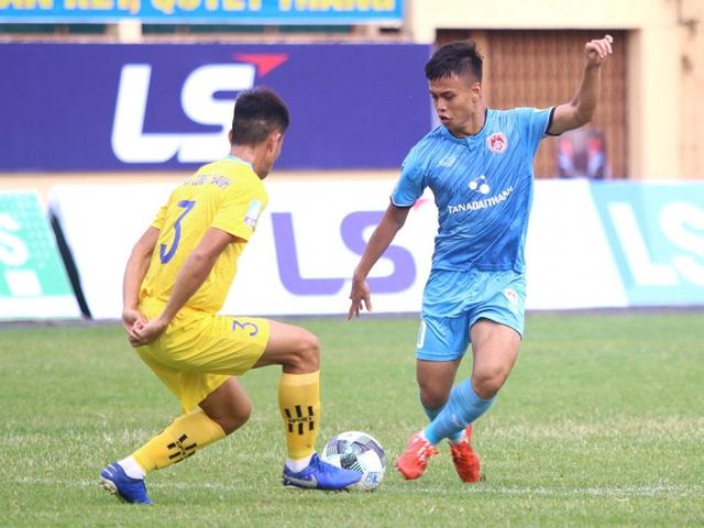 Kết quả, bảng xếp hạng vòng 7 giải hạng Nhất QG LS V.League 2-2020: Đội đầu bảng bất ngờ bại trận - Ảnh 2.