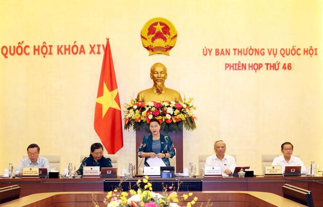Khai mạc Phiên họp thứ 46 của Ủy ban Thường vụ Quốc hội - Ảnh 1.