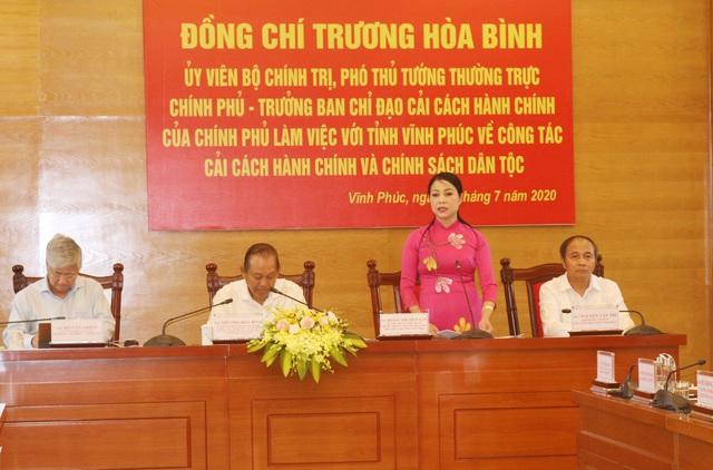 Phó Thủ tướng Trương Hòa Bình: Gắn cải cách hành chính với phát triển kinh tế - xã hội - Ảnh 1.