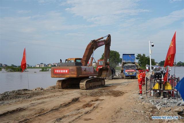 Mưa lũ lịch sử, 33 sông lớn ở Trung Quốc vượt mức kỷ lục - Ảnh 4.
