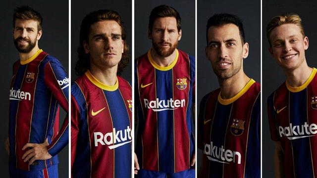 Barcelona ra mắt mẫu áo đấu mùa giải 2020/21 - Ảnh 1.