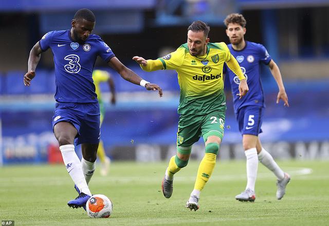Chelsea 1-0 Norwich: Giroud tỏa sáng, Chelsea xây chắc vị trí thứ 3 - Ảnh 1.