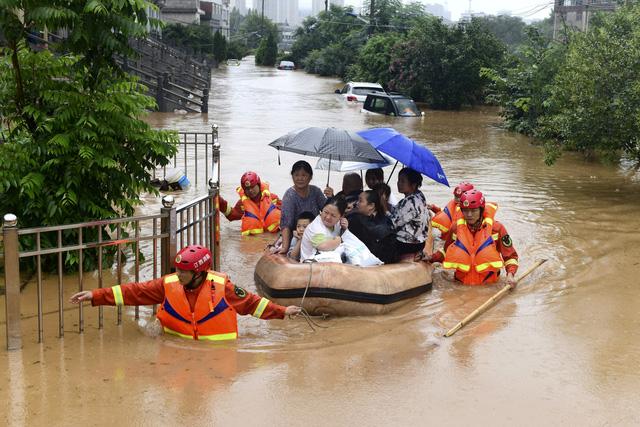 Hơn18 triệu người ở Trung Quốc tiếp tục hứng chịu lũ lụt nghiêm trọng - Ảnh 2.