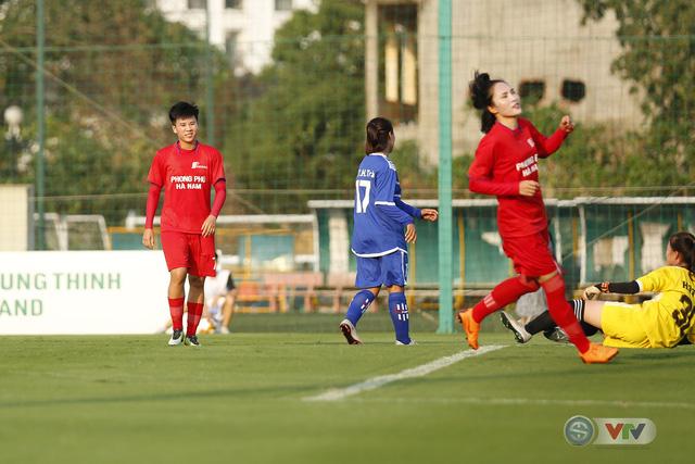 Apec Sơn La 2-6 Phong Phú Hà Nam: Cơn mưa bàn thắng (Bóng đá nữ Cúp Quốc gia 2020) - Ảnh 3.