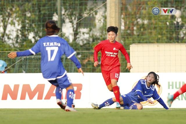 Apec Sơn La 2-6 Phong Phú Hà Nam: Cơn mưa bàn thắng (Bóng đá nữ Cúp Quốc gia 2020) - Ảnh 8.