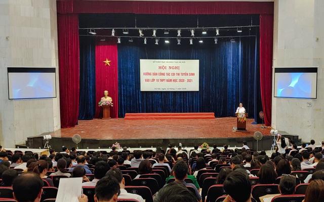Hà Nội sẵn sàng cho kỳ thi tuyển sinh vào lớp 10 THPT năm học 2020-2021 - Ảnh 1.
