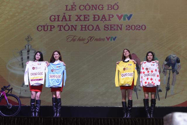 ẢNH: Toàn cảnh buổi lễ công bố Giải xe đạp VTV Cúp Tôn Hoa Sen 2020 - Tự hào 50 năm VTV - Ảnh 13.