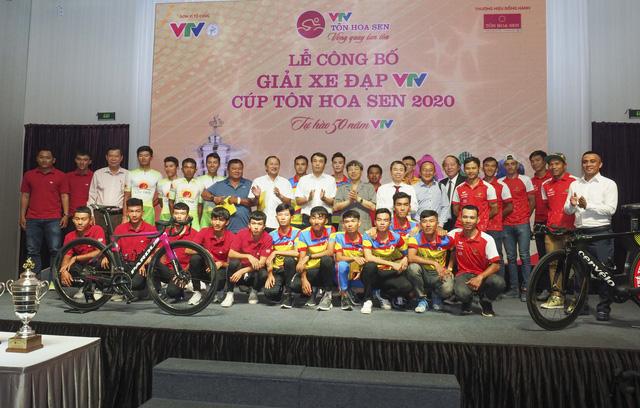 Lễ công bố Giải xe đạp VTV Cúp Tôn Hoa Sen 2020: Tự hào 50 năm VTV - Ảnh 15.