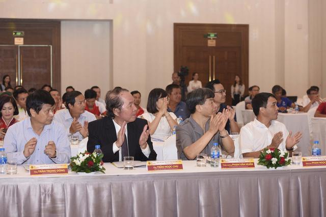 ẢNH: Toàn cảnh buổi lễ công bố Giải xe đạp VTV Cúp Tôn Hoa Sen 2020 - Tự hào 50 năm VTV - Ảnh 2.