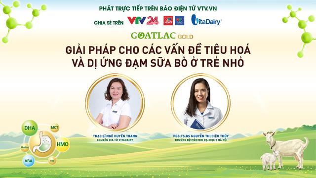 Tư vấn trực tuyến: Giải pháp cho các vấn đề tiêu hoá và dị ứng đạm sữa bò ở trẻ nhỏ - Ảnh 1.