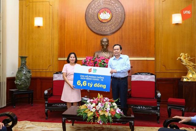 Thêm 1,6 tỷ đồng gửi đến MTTQ Việt Nam hỗ trợ phòng chống COVID-19 - Ảnh 1.