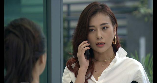 Phương Oanh bất ngờ nhuộm tóc tím hồng, Bảo Thanh khen bắt trend tới bến - Ảnh 4.