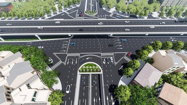 Khởi công hầm chui Lê Văn Lương đường vành đai 3 trước 10/10 - Ảnh 4.