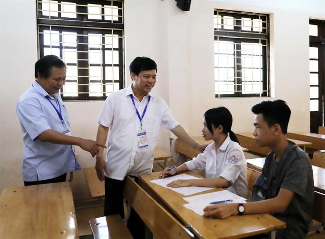 Đặc biệt phòng thi vào lớp 10 THPT tại Hà Nội chỉ có 1 thí sinh - Ảnh 1.