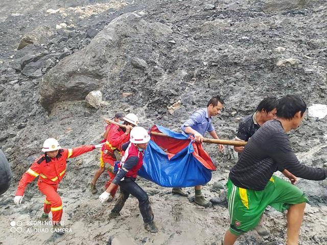 Sập mỏ ở Myanmar, 113 người chết, số thương vong còn tiếp tục tăng - Ảnh 1.