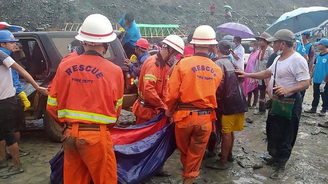 Hơn 100 người tử vong vụ sập mỏ ngọc bích ở Myanmar: Chỉ 1 phút, tất cả đã biến mất - Ảnh 2.