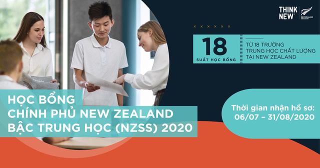 22 học sinh Việt Nam xuất sắc nhận học bổng Chính phủ New Zealand - Ảnh 1.
