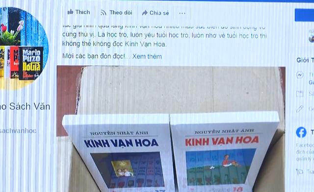 Sách giả bán cực chạy trên Facebook, làm giả cả tem chống hàng giả - Ảnh 1.
