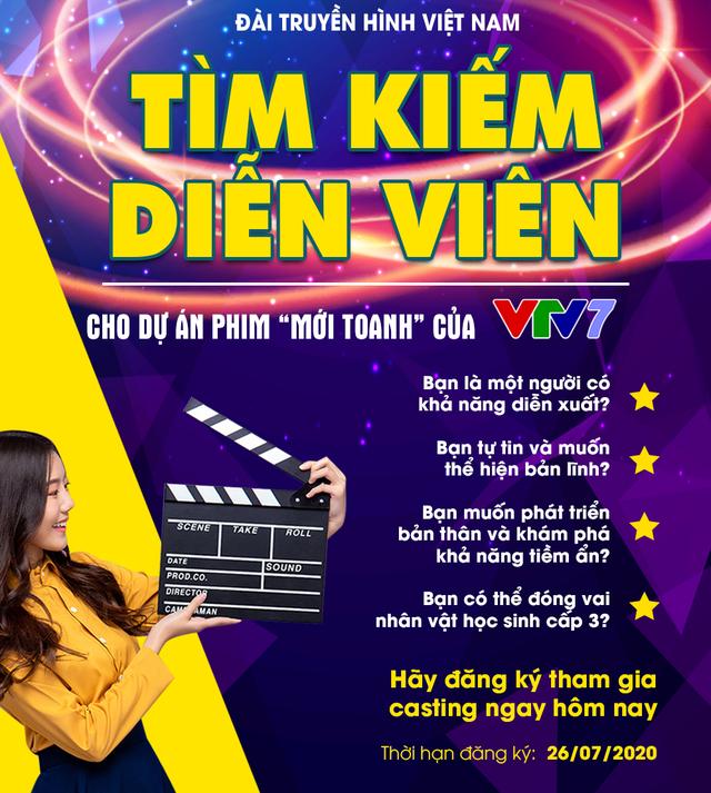 Cơ hội có 1-0-2: VTV7 tìm kiếm diễn viên cho dự án phim mới - Ảnh 1.