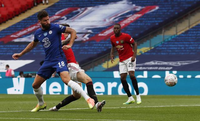 Thắng đậm Man Utd, Chelsea tạo nên trận derby London ở chung kết cúp FA - Ảnh 1.