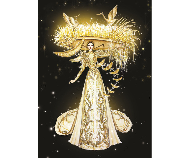 Lộ diện 8 thiết kế trang phục dân tộc cho Khánh Vân tại Miss Universe 2020 - Ảnh 2.