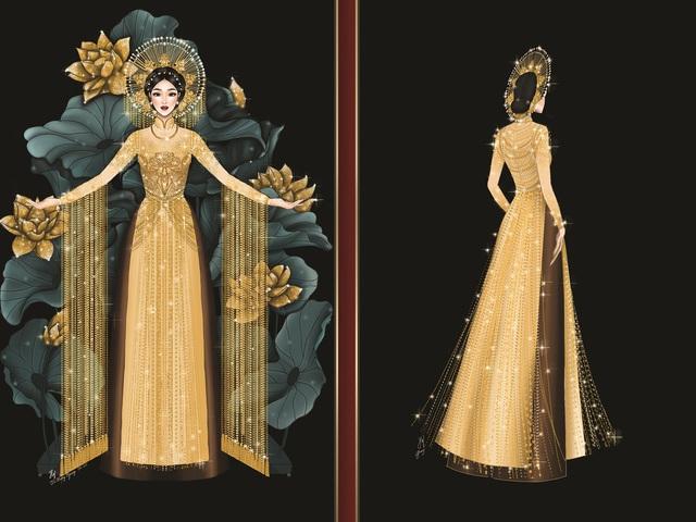 Lộ diện 8 thiết kế trang phục dân tộc cho Khánh Vân tại Miss Universe 2020 - Ảnh 5.
