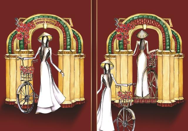 Lộ diện 8 thiết kế trang phục dân tộc cho Khánh Vân tại Miss Universe 2020 - Ảnh 7.