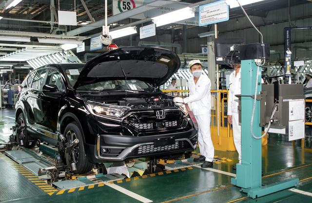 Honda CR-V 2020 lắp ráp ở Việt Nam chính thức xuất xưởng | VTV.VN