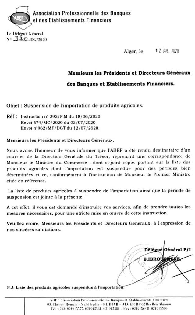 Algeria tạm ngừng nhập khẩu đối với 13 mặt hàng trái cây - Ảnh 1.