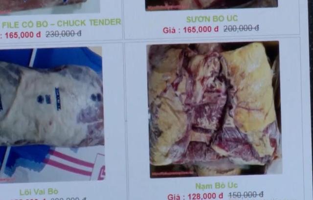 Thịt gia súc nhập khẩu giá siêu rẻ tràn lan trên chợ mạng - Ảnh 1.