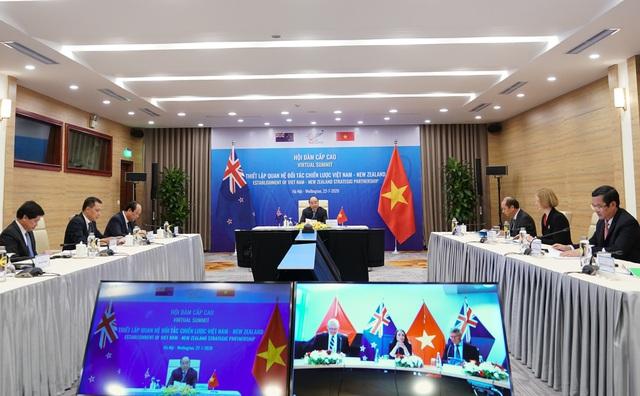 Việt Nam - New Zealand nâng cấp quan hệ lên tầm Đối tác Chiến lược - Ảnh 2.