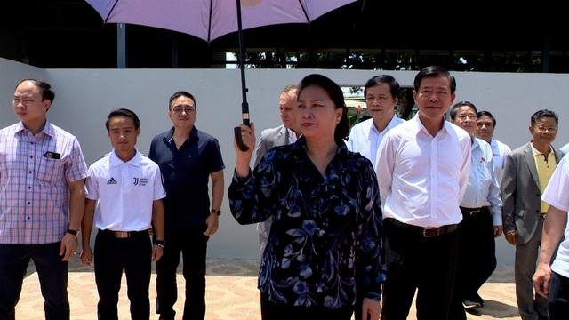 Chủ tịch Quốc hội Nguyễn Thị Kim Ngân đến thăm học viện bóng đá trẻ Juventus Việt Nam - Ảnh 2.