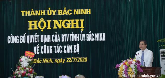 Thành phố Bắc Ninh có tân Bí thư Thành ủy sinh năm 1984 - Ảnh 1.