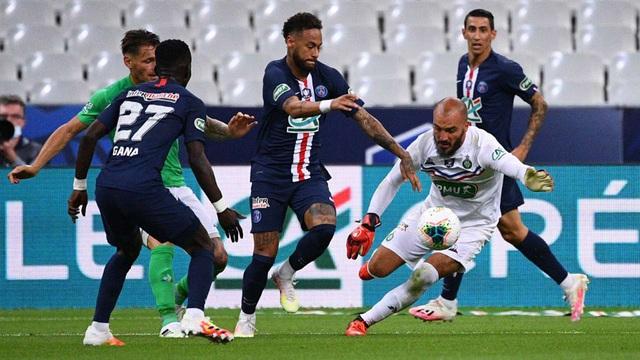Neymar ghi bàn duy nhất, PSG vô địch cúp Quốc gia Pháp - Ảnh 1.