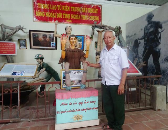 Cựu chiến binh hơn 20 năm tập hợp kỷ vật chiến tranh của đồng đội - Ảnh 2.