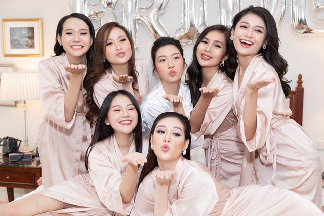 Á hậu Thúy Vân tiết lộ mang bầu con trai tại đám cưới - Ảnh 1.