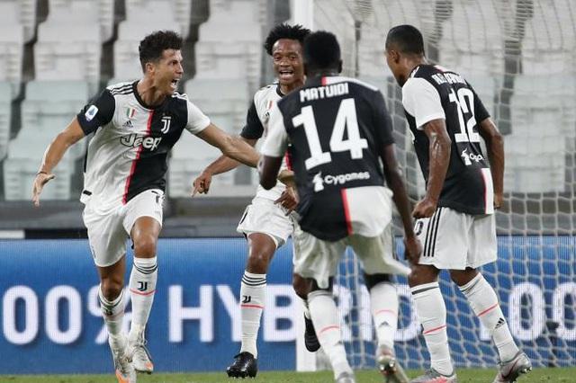 Ronaldo tỏa sáng, Juventus vô địch Serie A sớm 2 vòng - Ảnh 2.