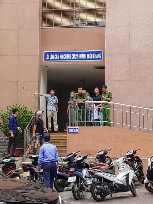 Hai đối tượng nổ súng cướp ngân hàng BIDV ở Hà Nội - Ảnh 1.