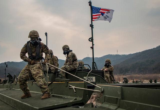 Bất chấp dịch COVID-19, Mỹ và Hàn Quốc vẫn tập trận chung trong tháng 8 - Ảnh 1.