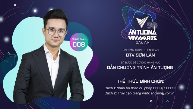 VTV Awards 2020: Nỗ lực 10 năm bền bỉ của BTV Sơn Lâm - Ảnh 2.
